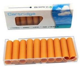 Smokeless cigarette refill cartridges